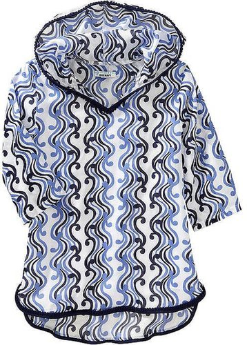 Girls Hooded Printed Cover-Up Tunics