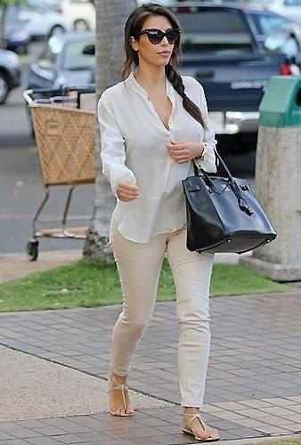 Dolce Vita Archer Sandal in White as Seen On Kim Kardashian