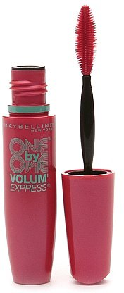 Maybelline Volum'Express One By One Mascara Blackest Black 255
