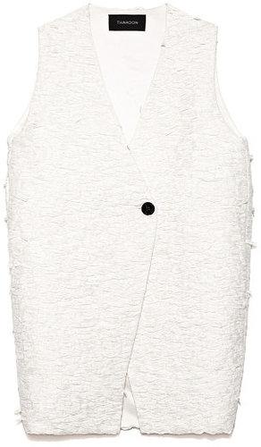 Preorder Thakoon Lace Printed Raffia Vest