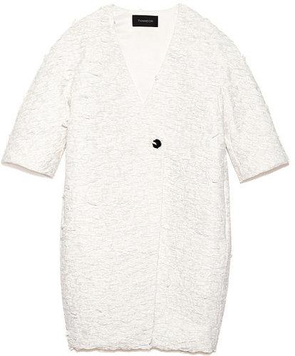 Preorder Thakoon Lace Printed Raffia Coat