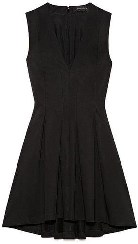 Preorder Thakoon Solid Poplin Seamed Waist Dress
