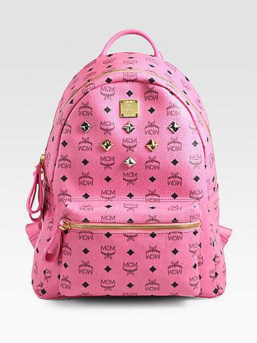 MCM Six Stud Stark Backpack