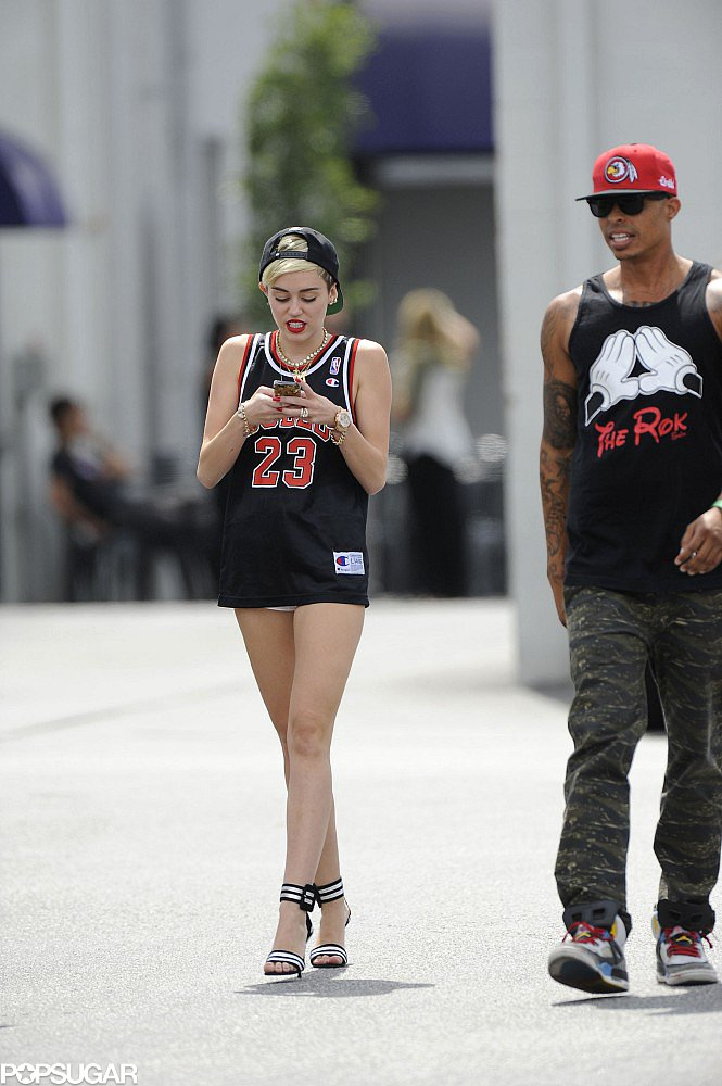 Miley Cyrus Puts on a Smile Following a Weekend of Tears and Stress