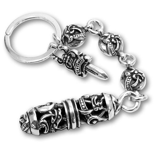 Chrome Hearts Key Ring Celtic Roller