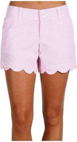 Lilly Pulitzer - Buttercup Short (Hotty Pink Lucky Seersucker) - Apparel