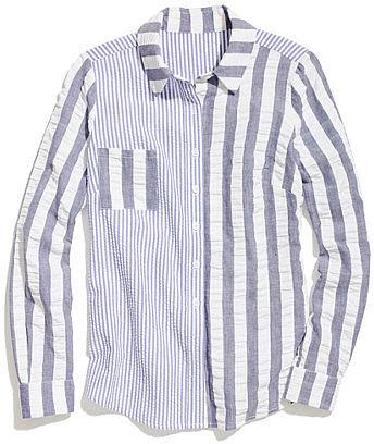 Rachel antonoff seersucker erin blouse