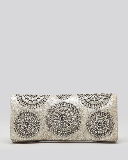 Tory Burch Clutch - Mini Foldover with Crystals