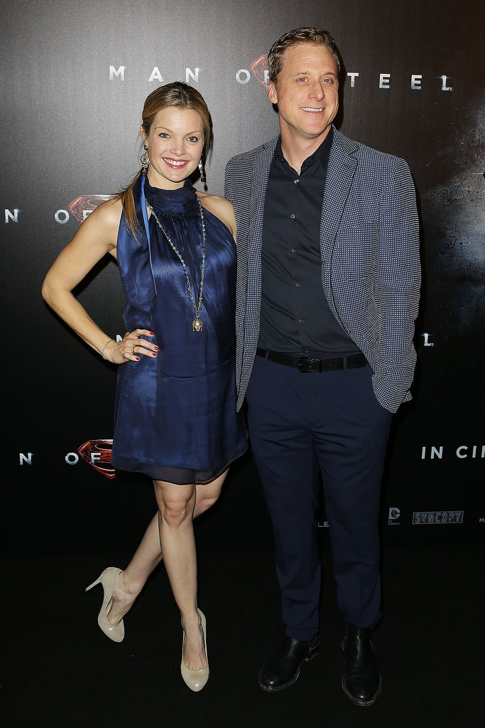 Claire Kramer and Alan Tudyk