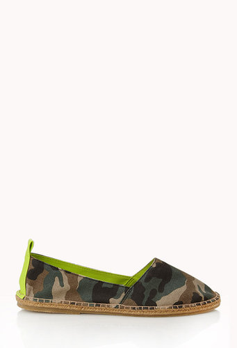 FOREVER 21 Camouflage Espadrilles