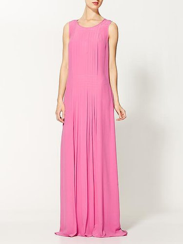 Rachel Zoe Payton Silk Pleated Shift Gown