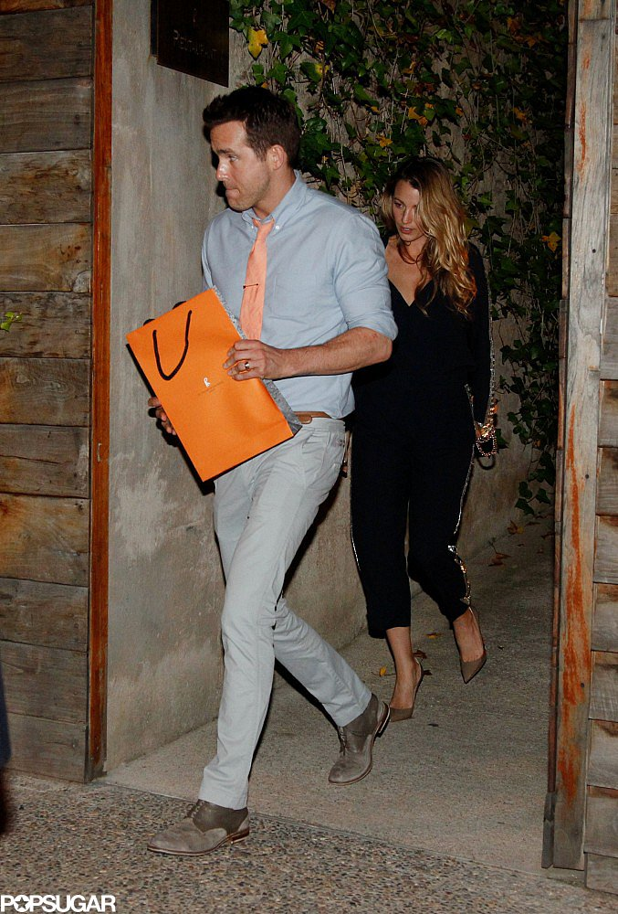 Blake and Ryan Make Time For Date Night During a Busy Barcelona Trip