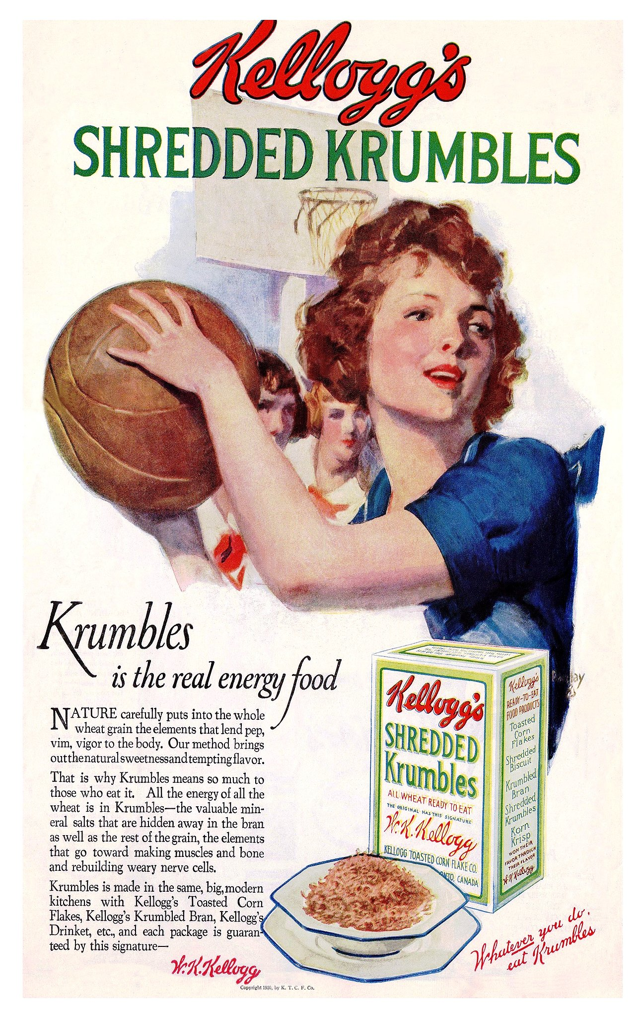 Fuel up for the big game with Krumbles.
