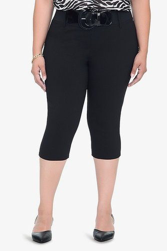Retro Chic By Torrid - Black High-Waisted Crops