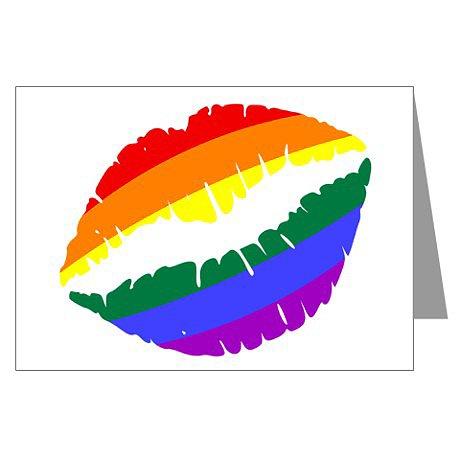 Rainbow kiss ($4)