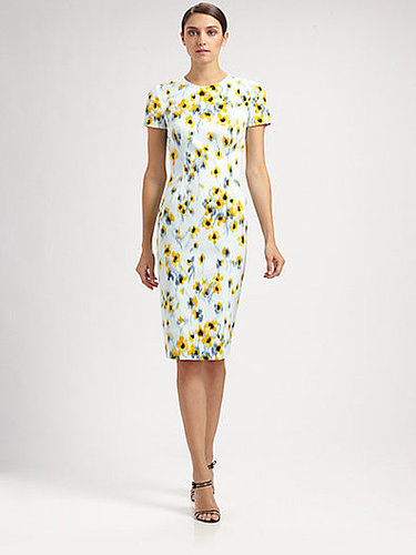 Carolina Herrera Floral Dress