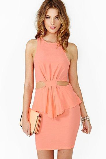 Hot Spell Peplum Dress