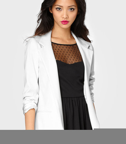 White Hot Boyfriend Blazer