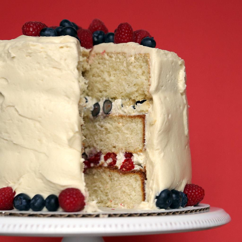 Blueberry Cake With White Cake Mix
