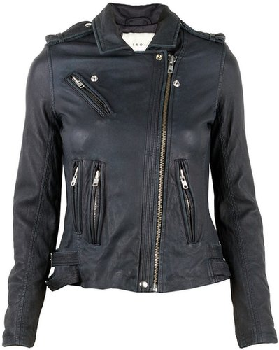 IRO HAN Veste Cuir Leather Jacket