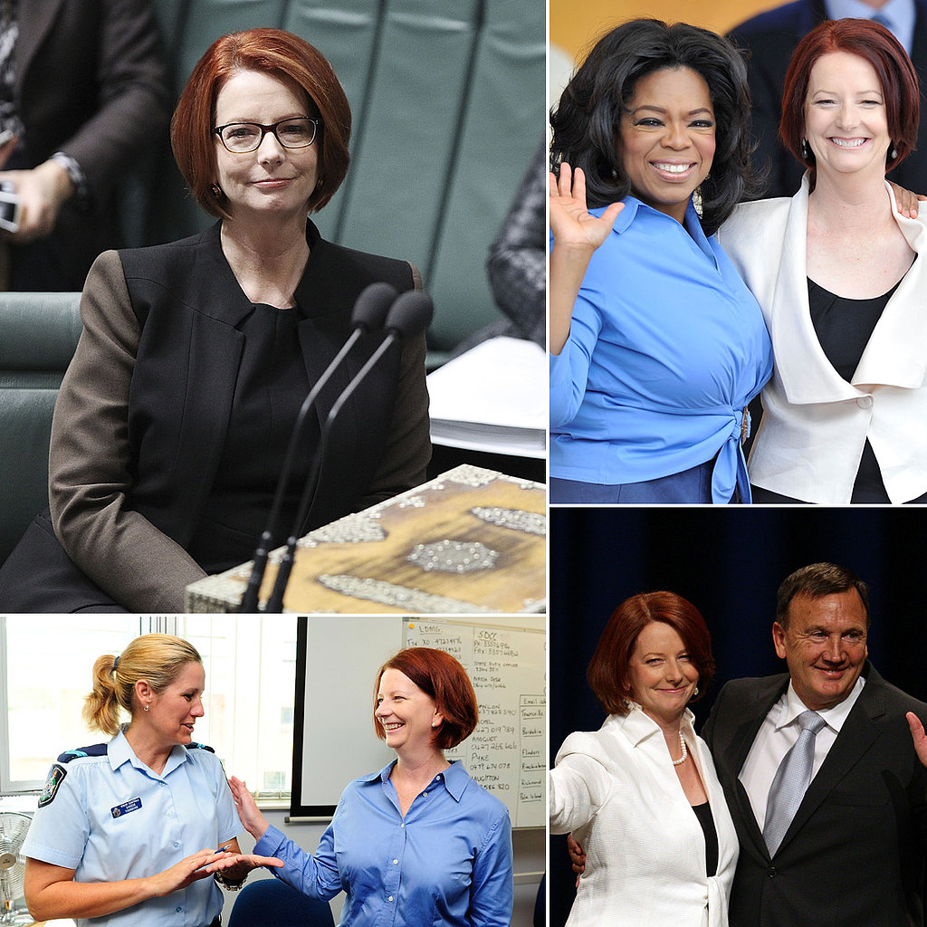 Celebrity Wedding Officiants For Hire: Julia Gillard Pictures As Prime Minister Of Australia