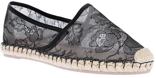 Valentino Garavani floral lace espadrille