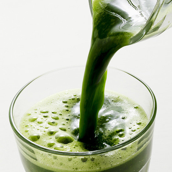 A Green Juice Recipe With Antoxidants