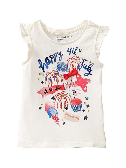 This Gap embellished t-shirt ($7, originally $15) sums up all the reasons to love the Fourth of July.