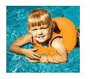 Learn-To-Swim Tube Trainer - Orange
