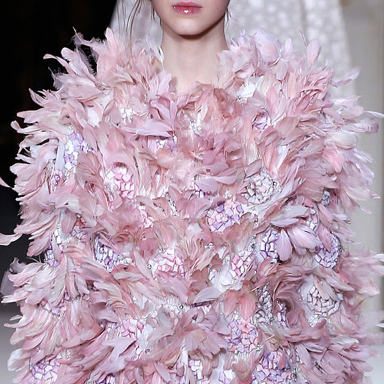A Closer Look at Giambattista Valli's Feathers
