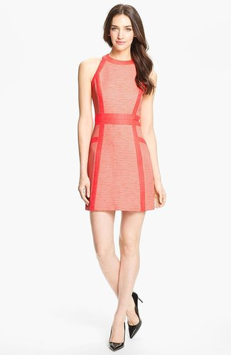 Milly Cotton Blend Sheath Dress
