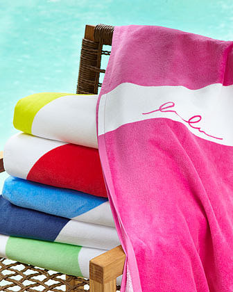 """Lulu DK for Matouk """"Abstractions"""" Beach Towel"""