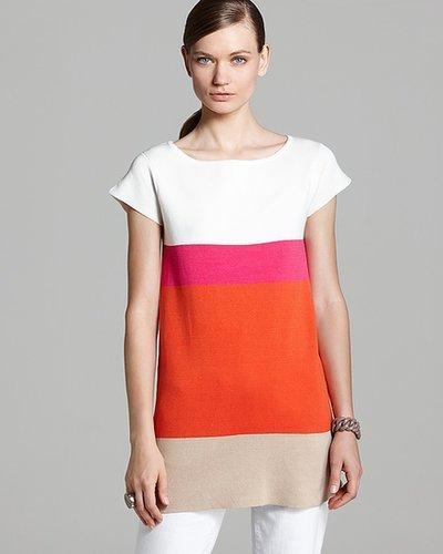 Joan Vass Colorblock Tunic