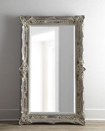 """Antique French"" Floor Mirror"