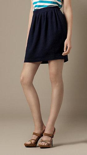 Mélange Jersey Tulip Skirt