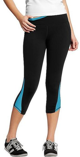 """Women's Active by Old Navy Compression-Mesh Capris (20"""")"""