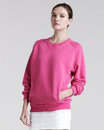 Pierre Balmain Crystal Sweatshirt