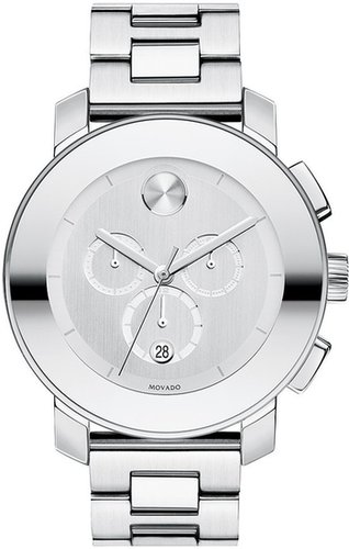 Movado 'Large Bold Chronograph' Bracelet Watch