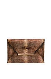 BCBGMAXAZRIA's Harlow Textured Envelope Clutch