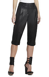 BCBGMAXAZRIA's Runway Carson Leather Short