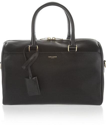 Saint Laurent Classic Duffle 6 leather bag