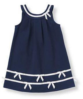 Bow Ponte Tank Dress