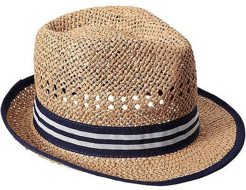 Straw Fedoras for Baby