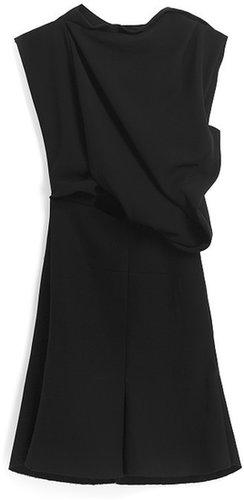 Preorder Ellery Black On Black Stripe Bonsai Dress