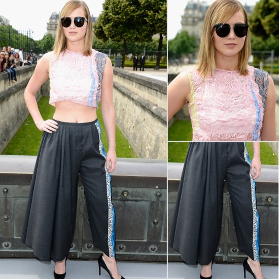 Jennifer Lawrence at Dior Haute Couture