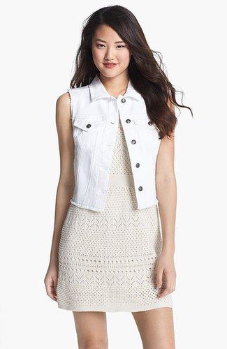 Jessica Simpson 'Dee Dee' Denim Vest