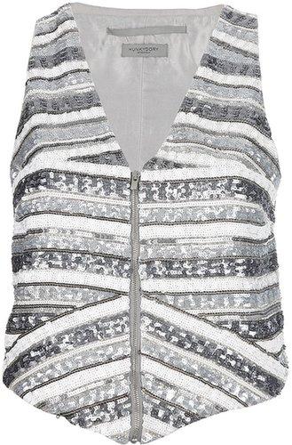 Hunky Dory 'Full Metal' waistcoat