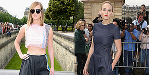 Stars Show Off Raf Simons's Latest Dior Designs at Paris Couture Week