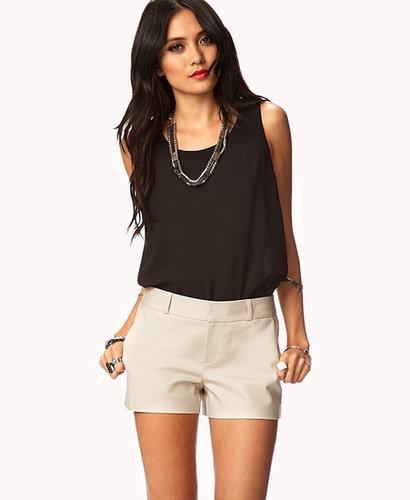 FOREVER 21 Essential Khaki Shorts