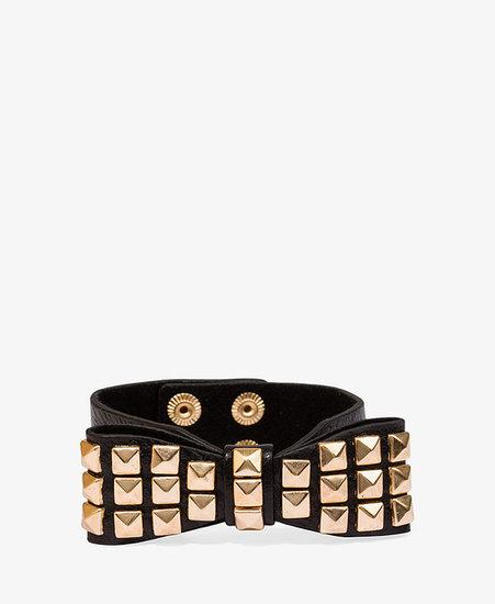 FOREVER 21 Studded Bow Bracelet